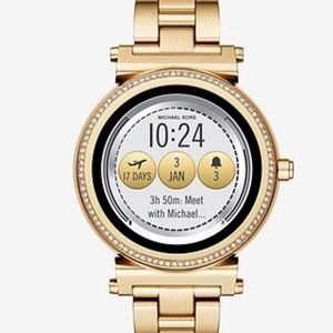 SOLD Michael Kors Sofie Smartwatch